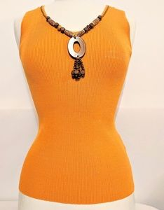 Ruby Rd. Sleeveless Blouse size PS